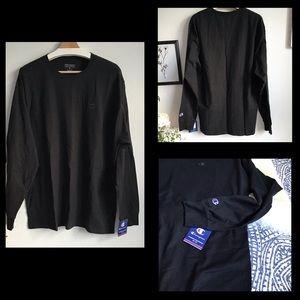 Champion  | Men's Classic Jersey Long Sleeve T |XL